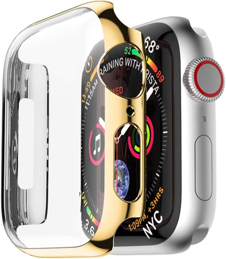 Case for Apple Watch Screen Protector Series 3 Series 2 Ultra Thin Clear for iWatch 42mm Screen Full Protection PC Cover