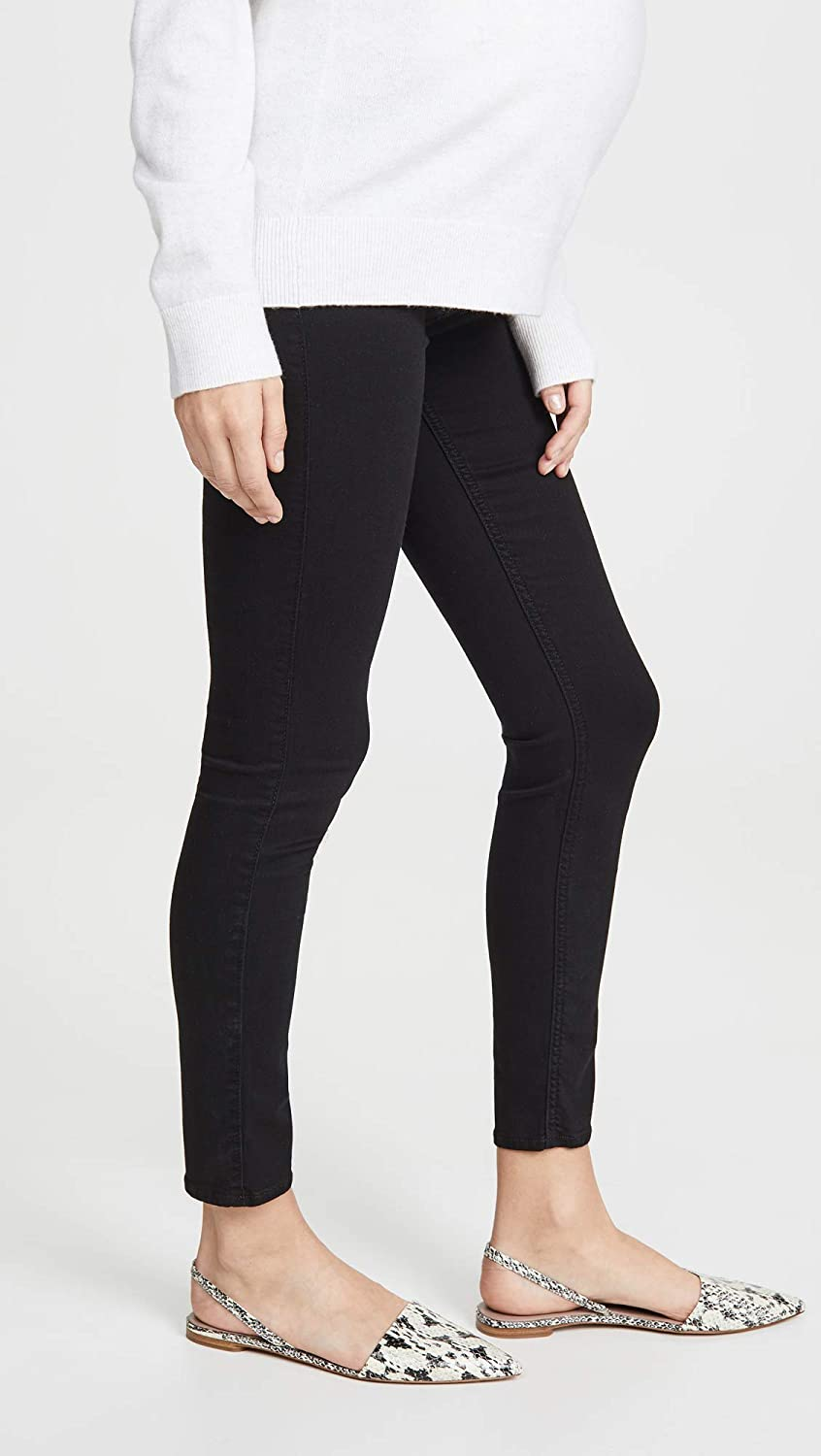 7 For All Mankind Women's The Ankle Skinny Maternity Jeans