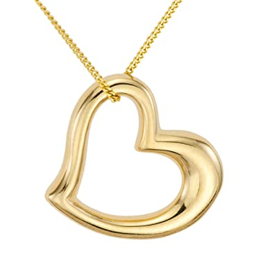 Ornami glamour 9ct yellow gold floating heart pendant on 46cm chain ornami glamour 9ct yellow gold floating heart pendant on 46cm chain aloadofball Choice Image
