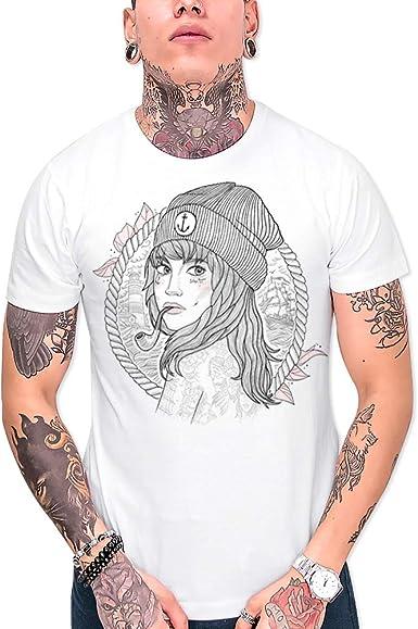 VIENTO Woman Captain Camiseta para Hombre: Amazon.es: Ropa y ...