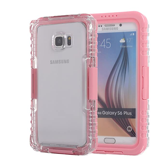 detailed look 73159 52b2f Amazon.com: Galaxy S6 Edge+ / Note 5 Waterproof Case, oneCase™ IP-68 ...