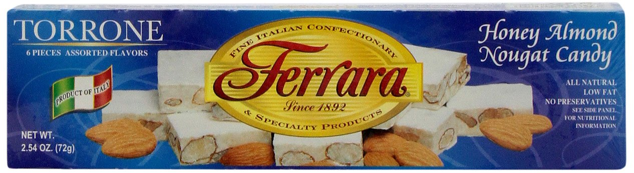 Ferrara 6 Pack Assorted Torrone by Ferara