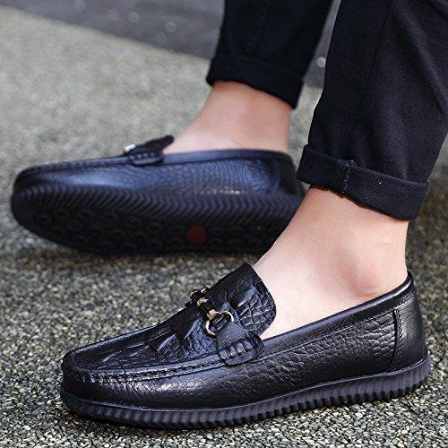 alla qualit di Casual scarpe Scarpe Skid guida della vettura L'uomo alta UAxqdOBwB