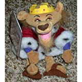 Out of Production Disney Robin Hood Prince John Lion Doll MINT with Tag