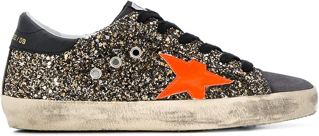 Gold Glitter Sneakers: Amazon.co.uk