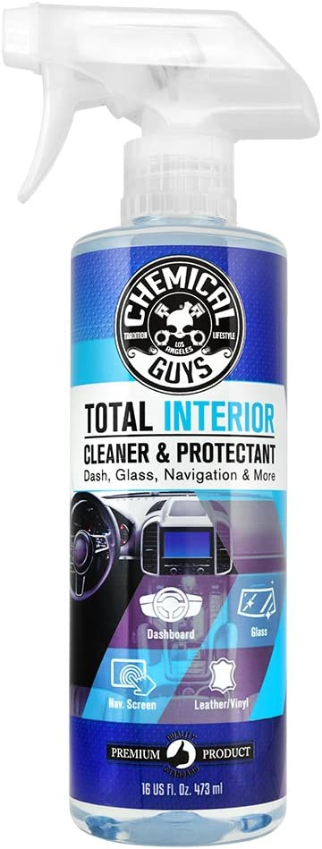 Chemical Guys Total Interior Cleaner & Protectant - Top Pick Car Upholstery Cleaner