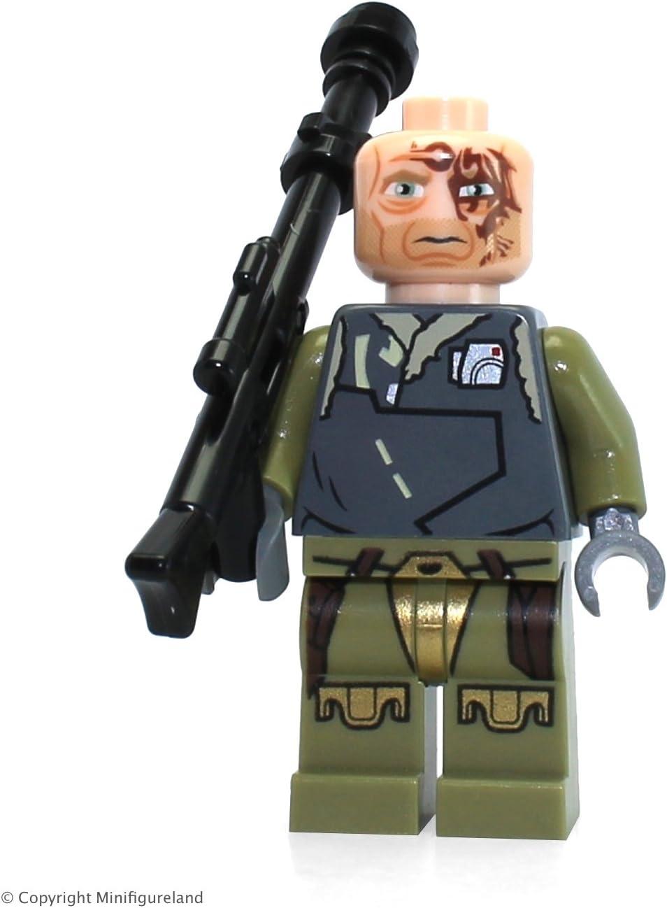 Lego Star Wars Obi-Wan Kenobi Rako Hardeen Bounty Hunter Disguise Minifigure (2013)
