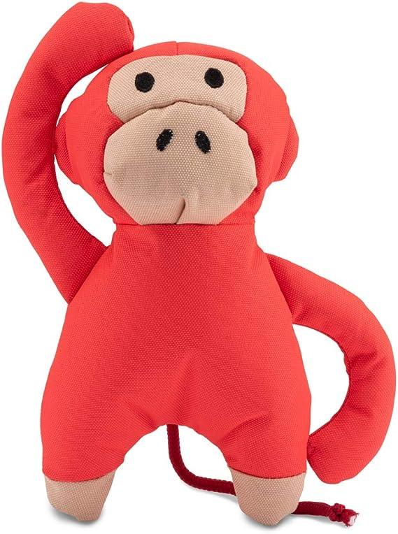 Beco Soft Toy Michelle The Monkey Juguete para Perro Hecho de Botellas de plástico recicladas, con sonajero: Amazon.es: Productos para mascotas