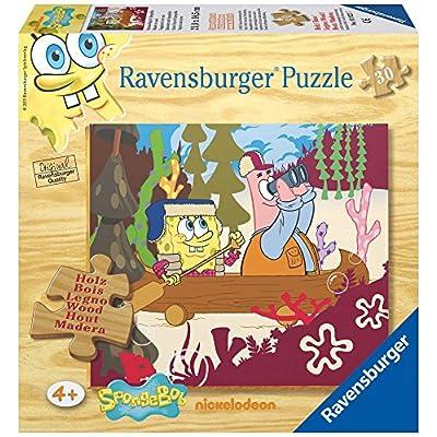 Ravensburger 39227 Spongebob Puzzle In Legno Da 30 Pezzi