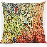 Dressin Festival Simple Fashion Pure Color Throw Pillow Cases Cafe Sofa Cushion Cover Home Decor Case