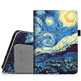 "Fintie Folio Case for Kindle Fire HD 7"" (2012 Old Model) - Slim Fit Leather Cover with Auto Sleep/Wake Feature (will only fit Amazon Kindle Fire HD 7, Previous Generation - 2nd), Starry Night"