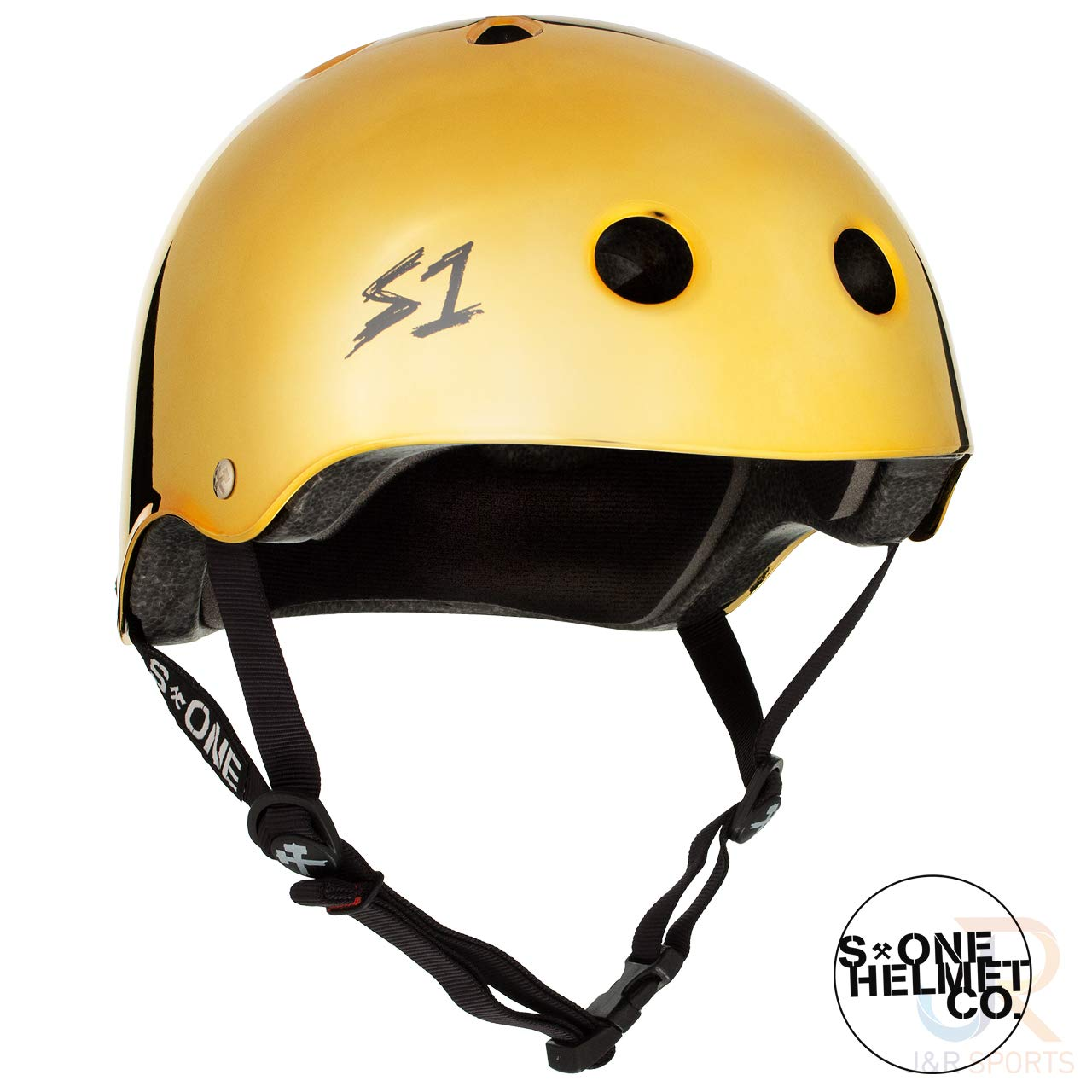 S1 Lifer Helmet - Gold Mirror