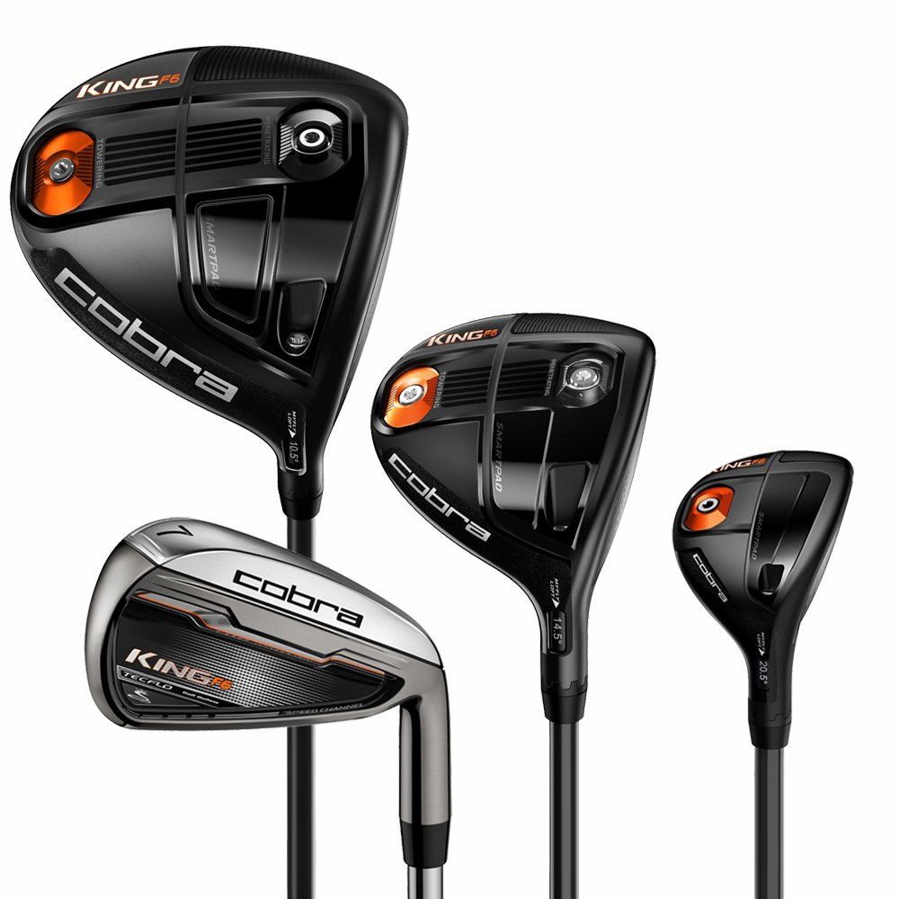 Cobra King F6 conductor Fairway, híbrido y planchas Combo ...