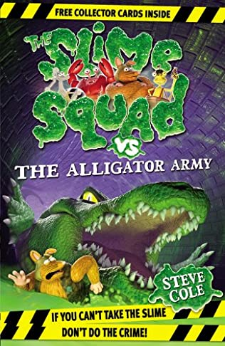 book cover of Slime Squad Vs the Alligator Army