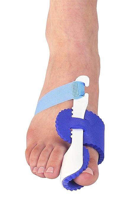 Corrector de juanetes Toe Straighteners férula para juanete alivio y Hallux Valgus Noche férula ajustable y