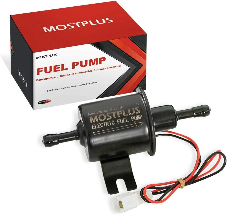 MOSTPLUS Gas Diesel Inline Electric Fuel Pump