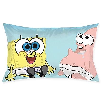 Amazon Com Meirdre Pillow Cases Spongebob Squarepants Baby