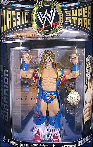 Wwe Classic Super Stars Series 12 Ultimate Warrior Action Figure