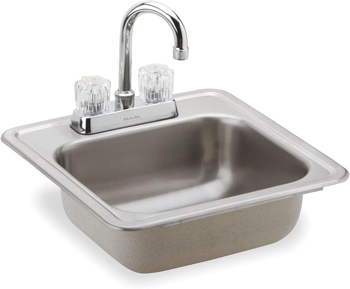 Drop-In Bar Sink Package, Stainless Steel