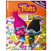 Deals on DreamWorks Trolls First Look and Find Activity Board Book
