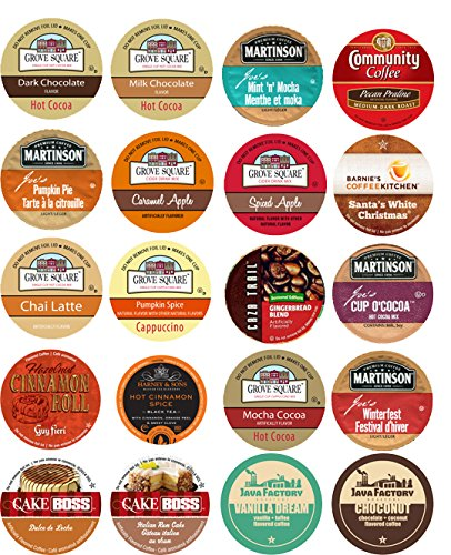 20 Cup Fantastic FALL FLAVORS Limited Edition Single Serve Cups -Cozy Fall Favorites! (Fall Flavors)