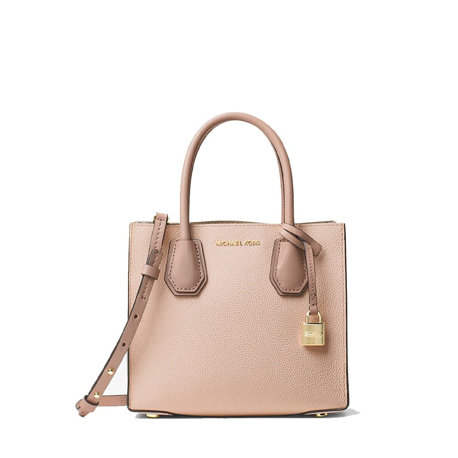 MICHAEL KORS MERCER MEDIUM MESSENGER TRY-TONE SOFT PINK(ピンク) [並行輸入品] B07226NWNW