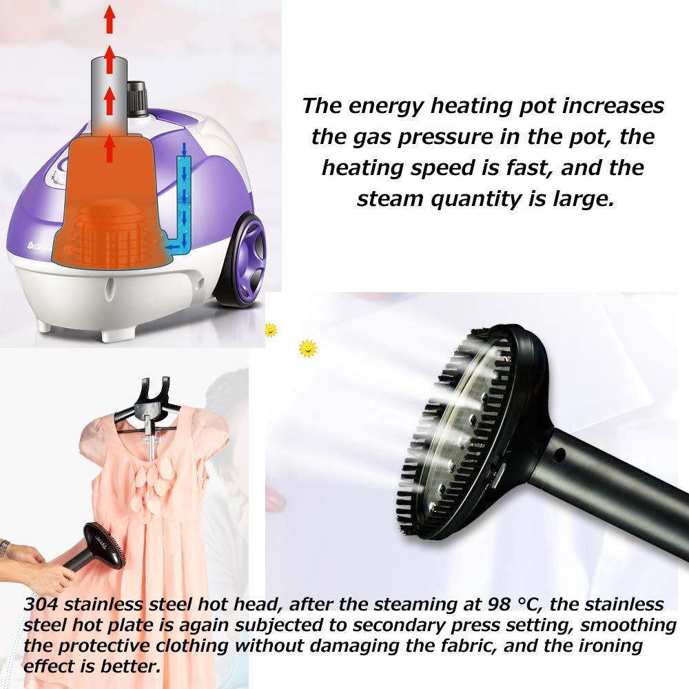 Ironing machine 1700w Colgando MáQuina De Planchar, Plancha De Vapor PortáTil con Temperatura Ajustable, 1.7l De Gran Capacidad para Planchar MáQuinas De ...