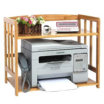 Qifengshop Estante de la Impresora de Escritorio Estante de ...