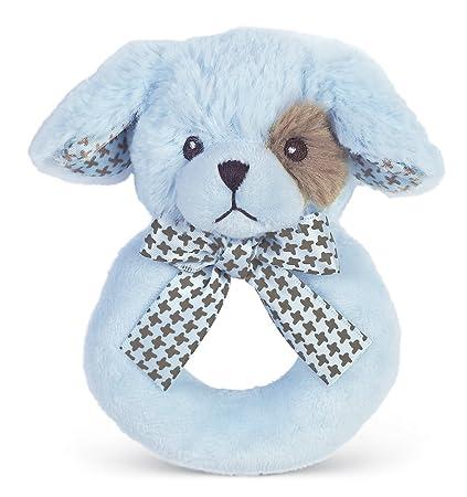 Amazon Com Bearington Baby Lil Waggles Plush Stuffed Animal Blue