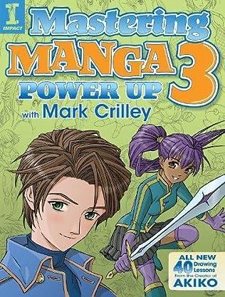 book cover of Mastering Manga 3