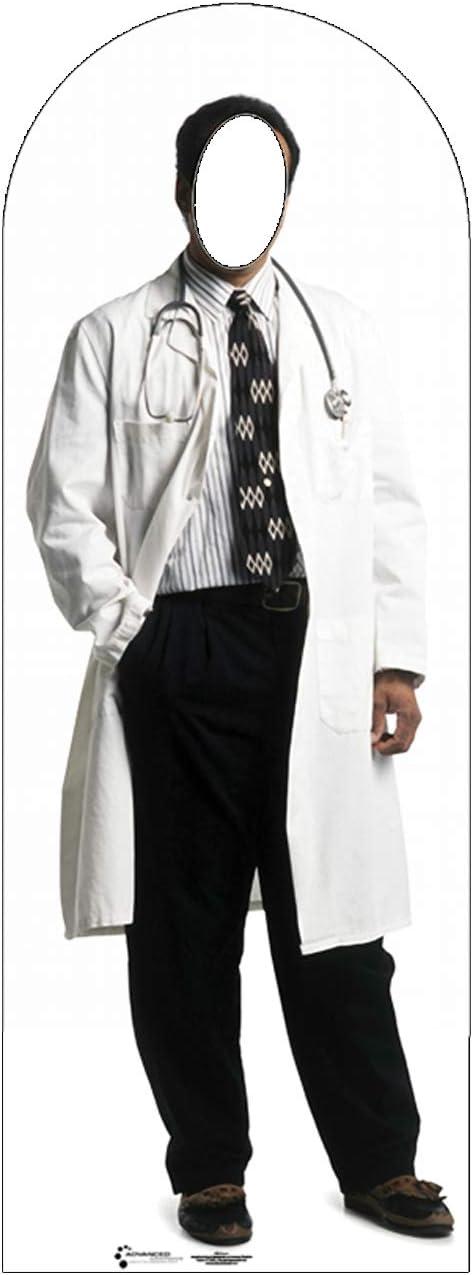 Cardboard People Doctor Stand-in Life Size Cardboard Cutout Standup