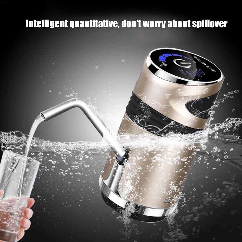 wovemster Bottled Water Pure Water Pressure Device Home Smart USB Charging Water Dispenser Drinking Water Pump Automatic Water Pump Electric Water Heater Drinking Water Bottle