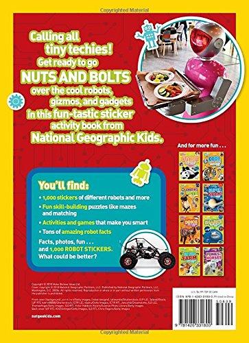 National Geographic Kids Robots Sticker Activity Book