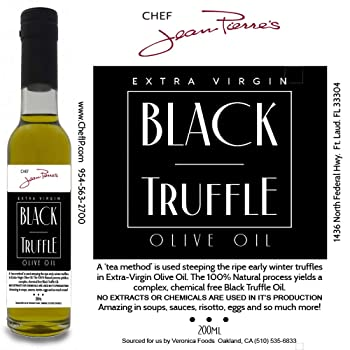 Chef Jean-Pierre's 7-oz Black Truffle Oil