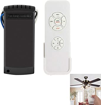LICHIFIT - Kit de luces decorativas universales para ventilador de ...