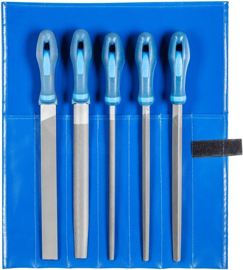Set of 5 Pieces Multi-Colour 300 mm Pferd 11800552 Type Cut 2 Machinists File Set