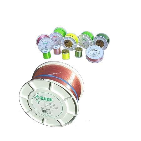 Ande Premium Monofilament – 1 2 lb. Spool – 30lb. Test – Pink