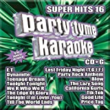 Party Tyme Karaoke - Super Hits 16 (16-song CD+G)