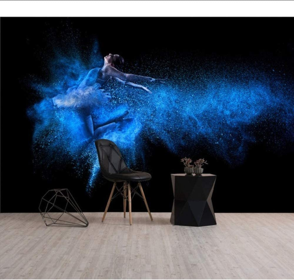 Amazon Com Dalxsh Custom 3d Mural Wallpaper Hd High Definition Dance Room Yoga Gym Fantasy Swan Dance Background Wallpaper Painting 120x100cm Furniture Decor