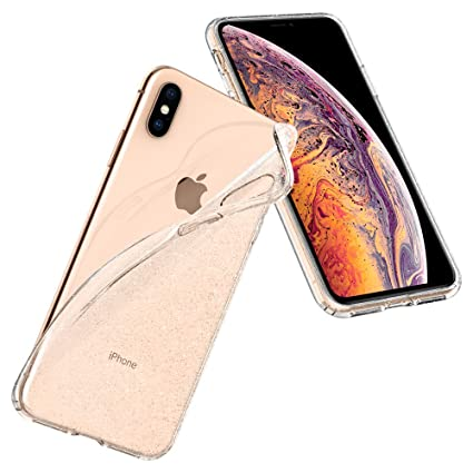 10e82cb95ee0 Spigen Liquid Crystal with Slim Protection Designed for Apple iPhone Xs Max  Case (2018) - Glitter Crystal Quartz  Amazon.ca  Cell Phones   Accessories