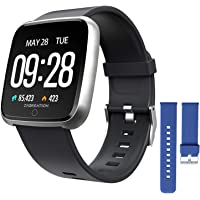 Smart Watch Heart Rate Monitoring Fitness Tracker with Sleep Monitoring Blood Pressure…