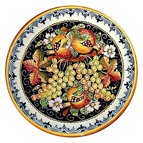(CERAMICHE D'ARTE PARRINI - Italian Ceramic Serving Bowl Centerpieces Art Pottery Dishware Made in ITALY Tuscan)