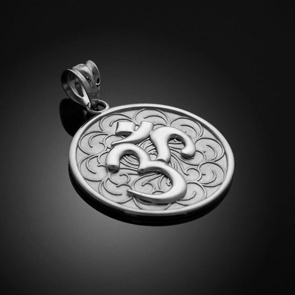 Silver 925 Om Pendant Handmade Silver 925 Om Pendant,