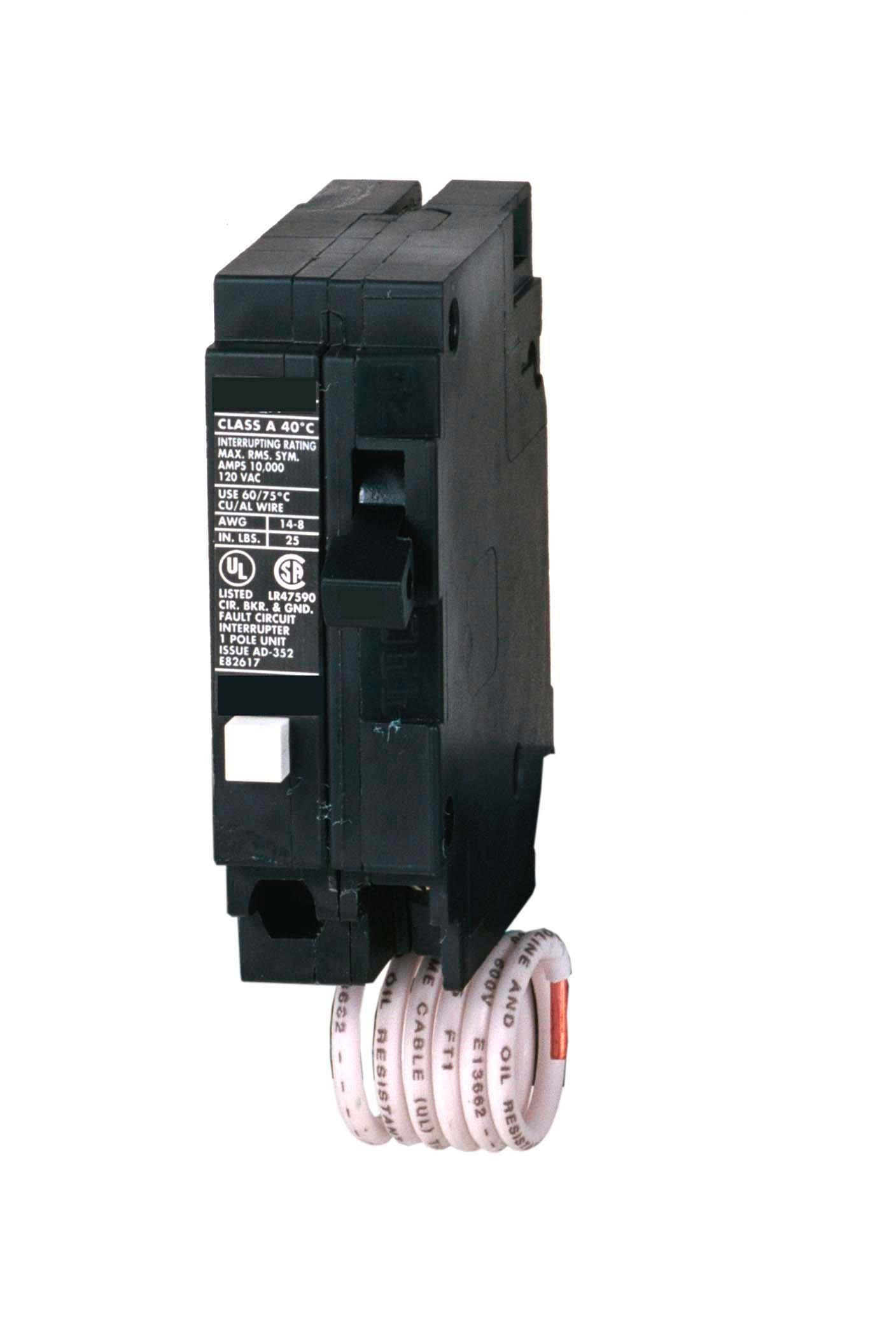 Murray MP120EG 20-Amp Single Pole 120-Volt Group Fault Equipment Protection Circuit Breaker
