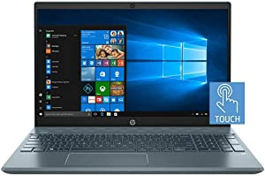 "2020 HP Pavilioin 15.6"" FHD IPS Touchscreen Premium Laptop | 10th Gen Intel Quad Core i7-1065G7 | 16GB RAM | 1TB SSD Boot + 2TB HDD | NVIDIA GeForce MX250 4GB | Backlit Keyboard | Windows 10 | Blue"