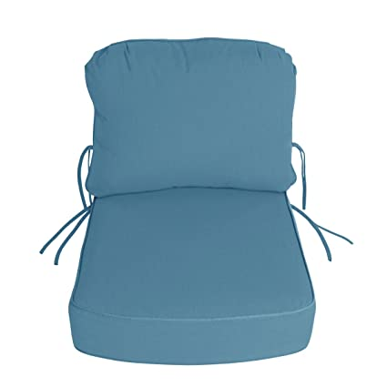 Sunbrella Outdoor DEEP SEATING CHAIR CUSHION BOXED U0026 WELTED By Comfort  Classics ...