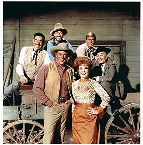 001 Gunsmoke Cast James Arness Ken Curtis Milburn Stone
