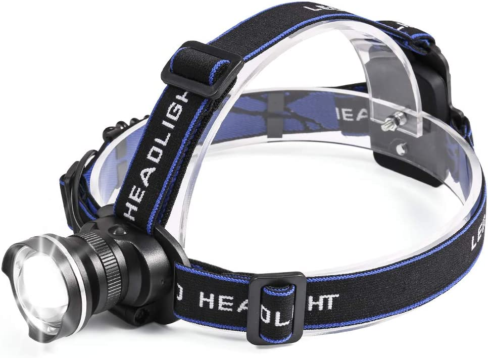 LED Headlamp Flashlight 4 Modes Outdoor Sport head torch For Camping Hiking BT