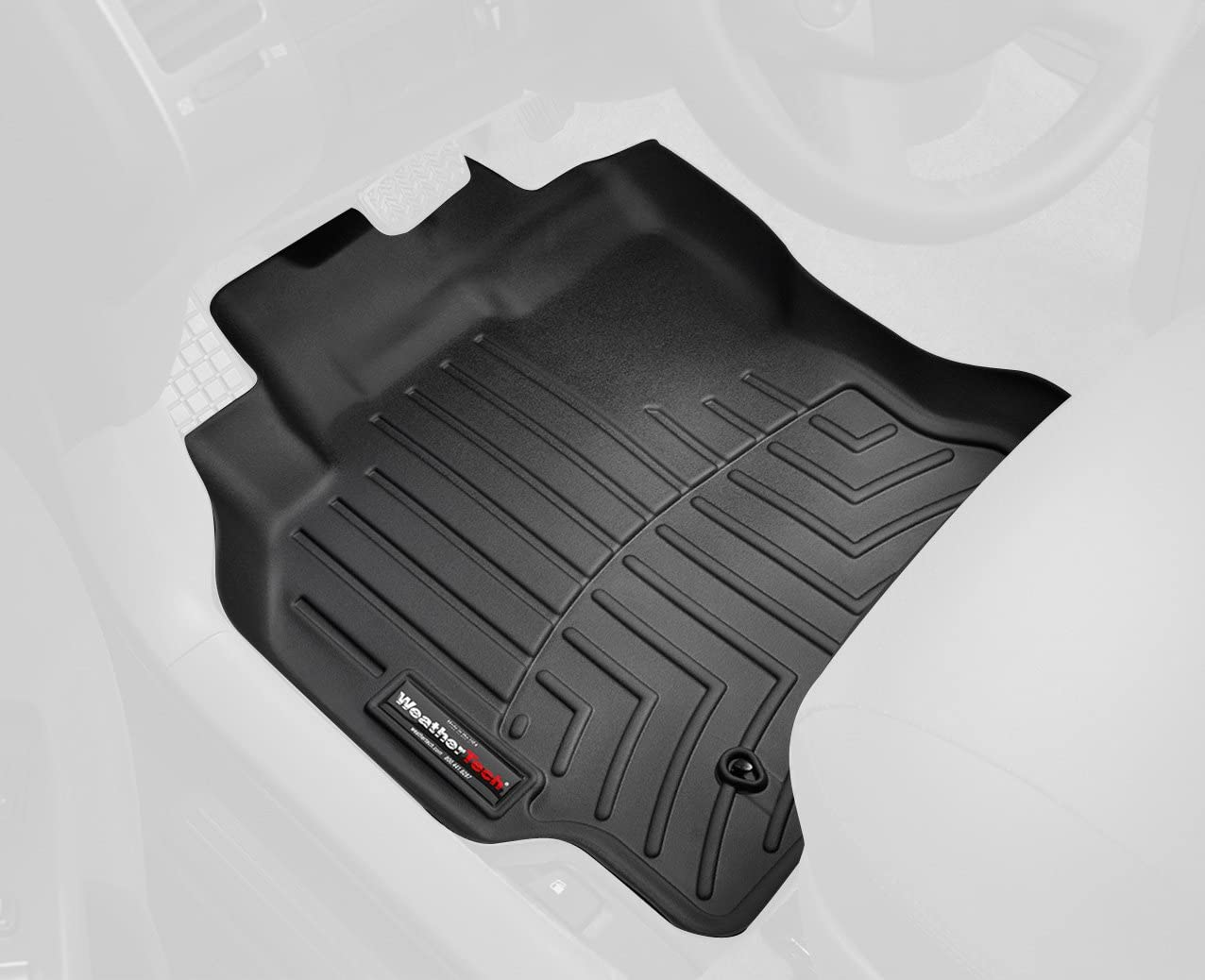 WeatherTech Custom Fit Front FloorLiner for Mazda 5 Black