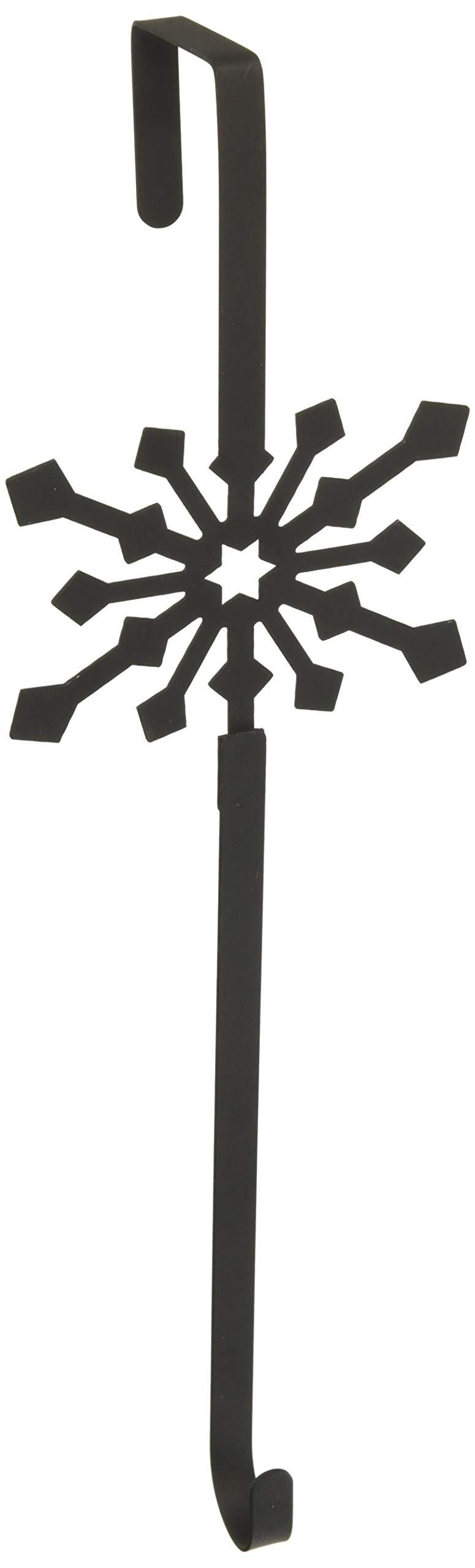 Village Wrought Iron 13 Inch Snowflake Wreath Hanger